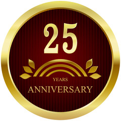 25 Years Anniversary, Button