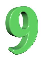 yeşil 9