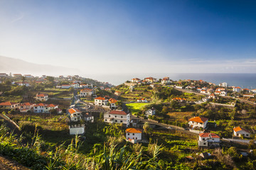 Porto Moniz, north of Madeira island, Portugal