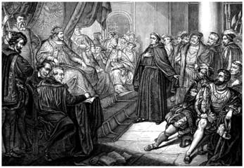 Preacher - Royal Court - 16th century
