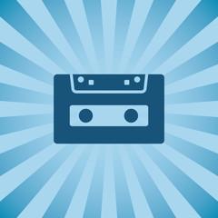 Retro poster audio cassette.