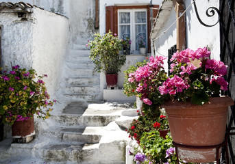 Old part of Athens, Greece