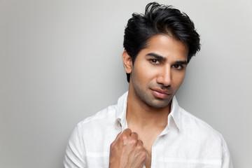 Portrait of a handsome Indian man