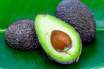 Several avocados