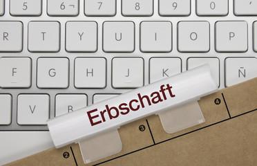 Erbschaft. Tastatur