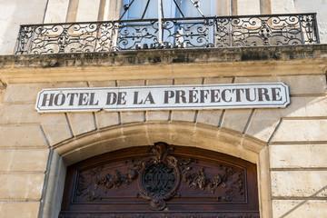 Hotel de la préfecture
