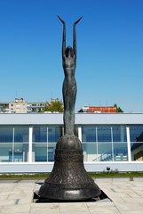 "Sculpture ""The Sacrifice"", created by sculptor Darius Braziunas"