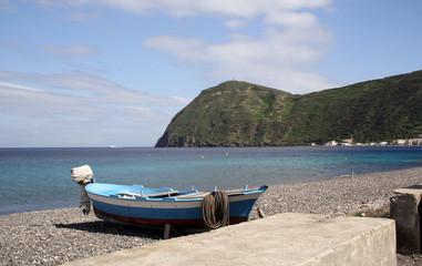 Lagune Lipari Mittelmeer