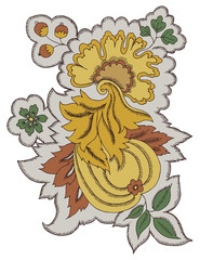 Paisley Floral Design