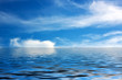 canvas print picture - Meer und Himmel