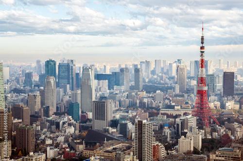 Leinwanddruck Bild Tokyo Tower