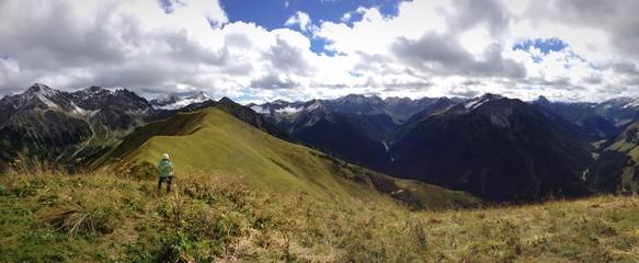 Bergpanorama Hönig