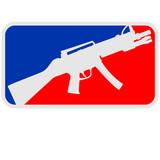 Shooter Waffe Killer eSport Logo 3c poster