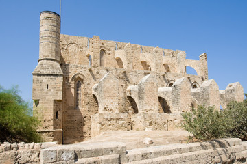 Mustafa Pasha Mosque in north Cyprus, Famagusta
