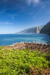 northern coast near Boaventura, Madeira island, Portugal