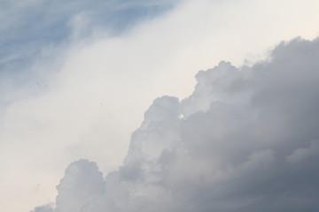 Nuvole sfondo clima minaccioso