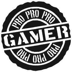 Pro Gamer Stempel Design