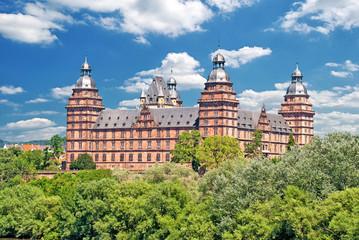 Schloss Johannisburg in Aschaffenburg im Spessart