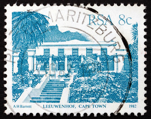 Postage stamp South Africa 1982 Leeuwenhof, Cape Town
