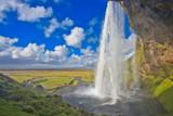 Seljalandsfoss --Beautiful Waterfall in Iceland