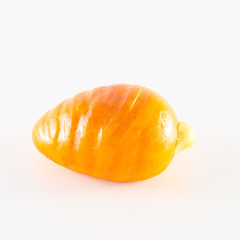 Traditional italian pastry fruit shaped made of marzipan