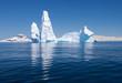 Beautiful reflection of Iceberg, Antarctica