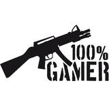 100 % Shooter Waffe Killer eSport poster