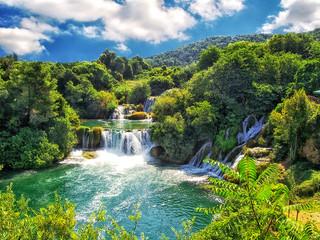 Der Krka-Nationalpark bei Šibenik in Kroatien