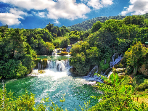 Der Krka-Nationalpark bei Šibenik in Kroatien - 64460413