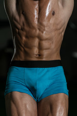 Abdominal Muscle Close Up
