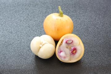 Baccaurea ramiflora or burmese grapes.