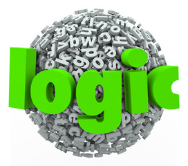 Logic Word Letter Sphere Reason Rational Thought Process