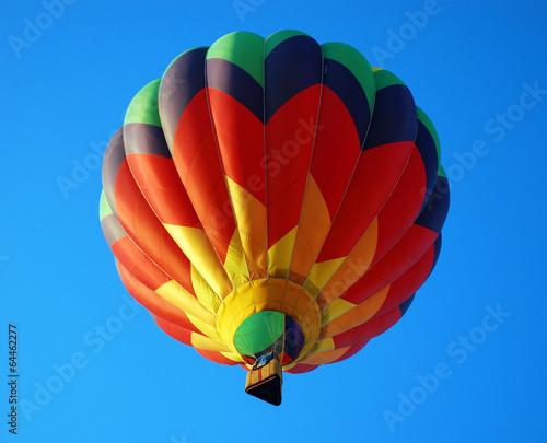 In de dag Ballon Balloon in the blue sky