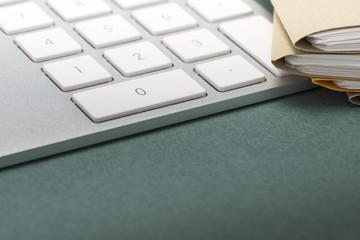keypad and files.