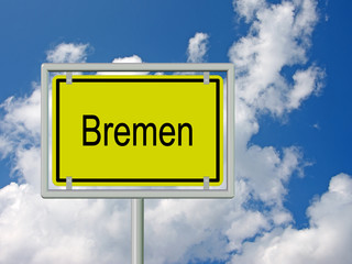 Bremen - Ortsschild