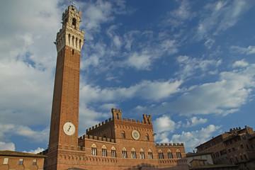 The Torre del Mangia. Siena (Tuscany, Italy)