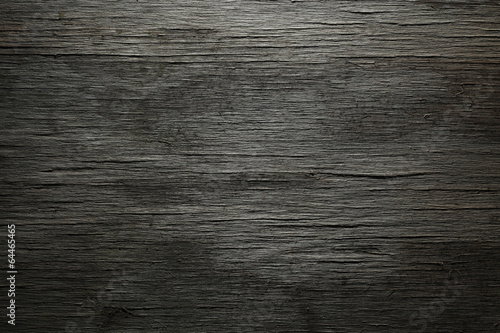 Leinwanddruck Bild Dark wood background