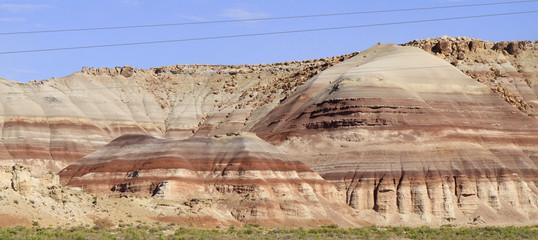 panoramique collines de l'Utah