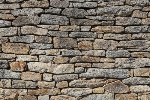 Granite Stones Wall