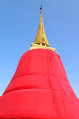 Phu Khao Thong, pagoda, the landmark ,Thailand