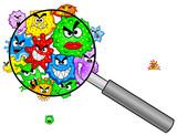 Bakterien unter der Lupe