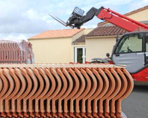 chantier de toiture