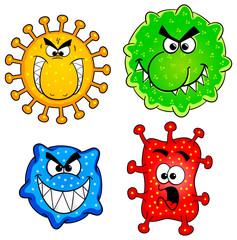 wilde Bakterien
