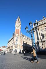 Lille - Beffroi et opéra