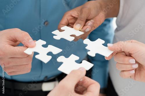 Poster Business teamwork concept