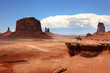 Leinwandbild Motiv USA - Monument valley