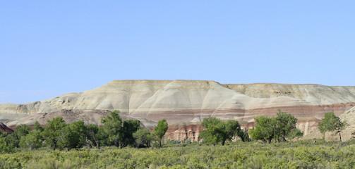 paysage panoramique  grand ouest américain
