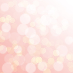 Abstract pink background with a bokeh for design
