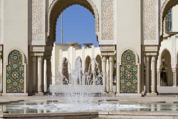 Islamic fountain Architecture in Casablanca, Morocco