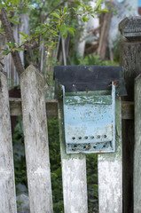 Old and rusty letter box